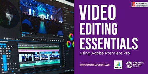 Video Editing Essentials using Adobe Premiere Pro