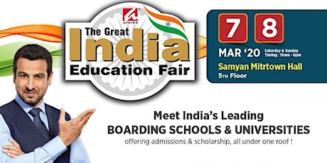 The Great Indian Education Fair 2020 tickets