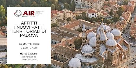 Affitti - I nuovi PATTI TERRITORIALI di Padova tickets