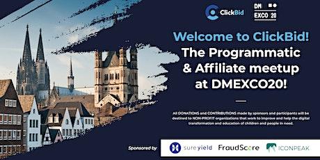 ClickBid DMEXCO 2020 Tickets