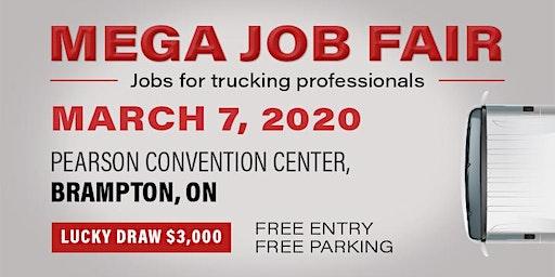 MEGA JOB FAIR EVENT - SPRING 2020- BRAMPTON