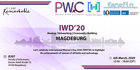 PWiC Magdeburg: International Women's Day 2020 (IWD'20) Tickets