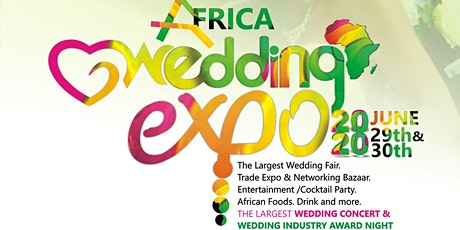 Africa Wedding Expo 2020 tickets