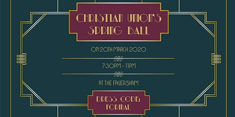 LEEDS CU'S SPRING BALL tickets