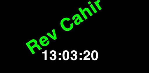 Rev Cahir Paddy's Disco 13:03:20