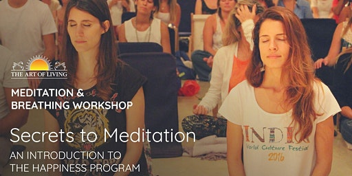 Secrets of Meditation - An Introduction to the Happiness Program, Newcastle