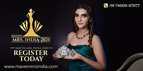 Maven Mrs India 2020 Auditions in Chandigarh tickets