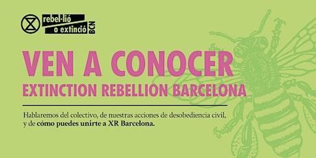 XR Barcelona  Reunión de Bienvenida [Español] entradas