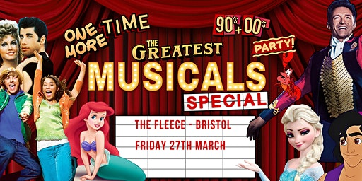 One More Time - 90's & 00's Party presents The Greatest Musicals Special