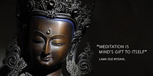 Lezing over boeddhisme en meditatie