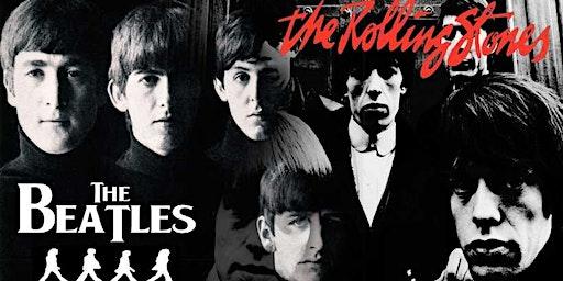 Beatles vs Rolling Stones (O Duelo do Século!) em Bragança |28/03| SÁBADO