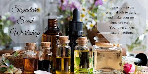 Essential Oil Perfume Workshop