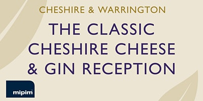 The Classic Cheshire Cheese & Gin reception