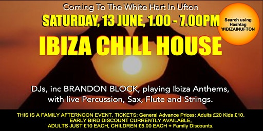 IBIZA CHILL HOUSE  at The White Hart in Ufton (#IbizaInUfton)