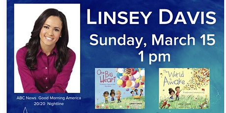 Author, Linsey Davis Book Reading & Signing tickets