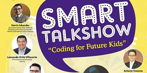 "SMART TALKSHOW ""Coding for Future Kids"""
