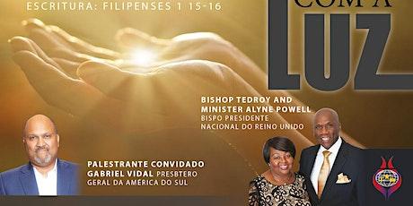 "Conferência Latina ""CRISTO LUZ DO MUNDO"" tickets"