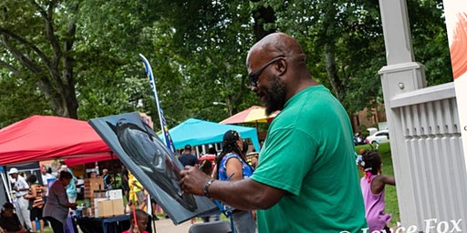 6th Annual Painting in the Park Family Fun Day: Christmas in July