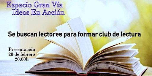 SE BUSCAN LECTORES PARA FORMAR CLUB  DE LECTURA en Vigo