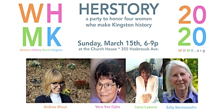 Herstory:  A Party to Honor Four Women who Make Kingston History tickets