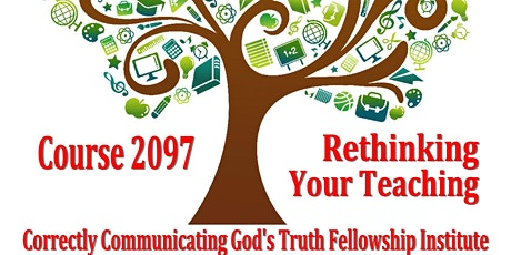 Instructor Recertification -- Course 2097-Rethinking Christian Education tickets