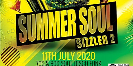 Summer Soul Sizzler 2 tickets