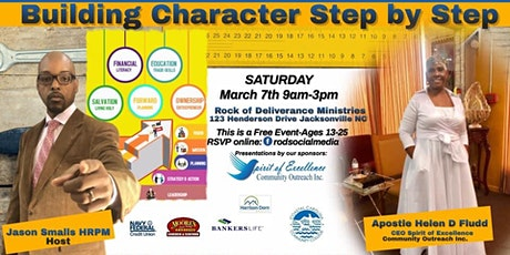 Building Character Step by Step tickets