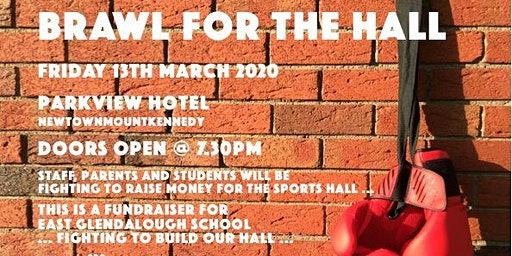 Brawl for the Hall, East Glendalough SchoolWicklow, Sports Hall Fundraiser