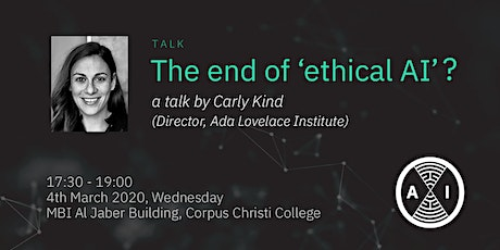 End of 'ethical AI'? tickets