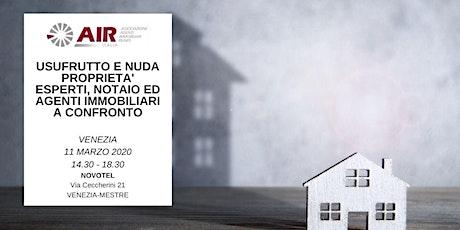 USUFRUTTO E NUDA PROPRIETA' ESPERTI, NOTAIO ED AGE tickets