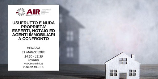 USUFRUTTO E NUDA PROPRIETA' ESPERTI, NOTAIO ED AGE