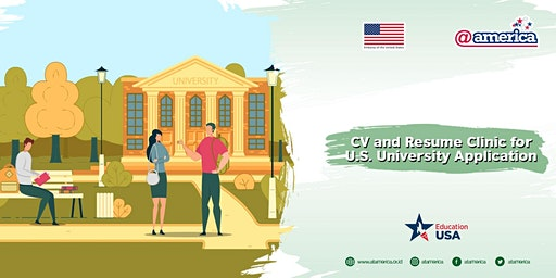 CV and Resume Clinic for U.S. University Application