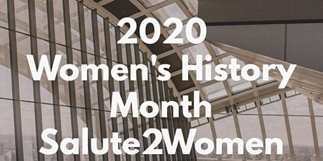 2020 Women's History Month Business Luncheon Extravaganza tickets