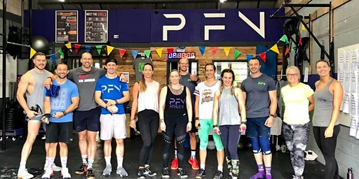 CrossFit PFN - Project Throwdown (Same Sex Pairs)