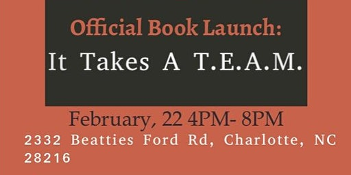Official Book Launch: It Takes A T.E.A.M.