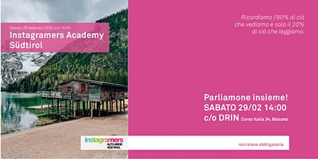Instagramers Academy Südtirol biglietti