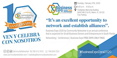Networking Breakfast | Conferences I Business Expo 2020 by Community Networker.