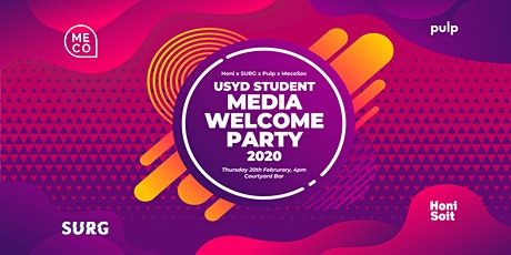 Student Media Welcome Party 2020 tickets