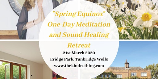 Spring Equinox One-day Meditation and Sound Healing Retreat