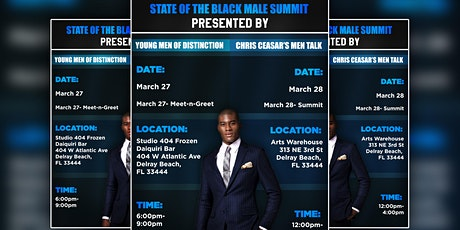 State of the Black Male Summit: Summit tickets