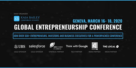 Geneva Global Entrepreneurship Conference tickets
