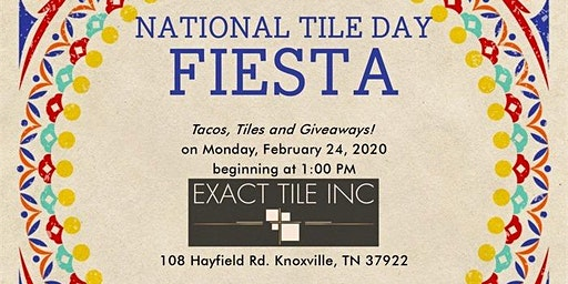 """CELEBRATE """"NATIONAL TILE DAY"""" OPEN EVENT"""