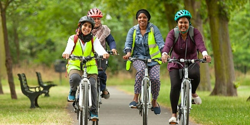 Cycle Sisters Saturday 22nd Feb Ride Low Hall to Olympic Park (Intermediate)
