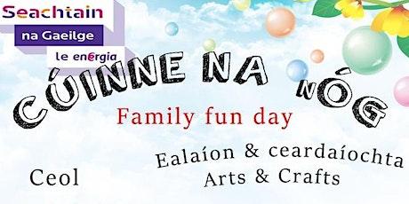 Cúinne na nÓg - Family event through Irish tickets