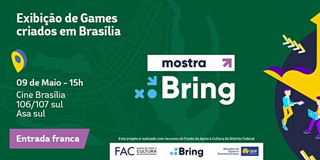 Mostra BRING #19 - Mostra Brasiliense de Indie Games ingressos