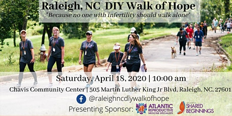 Raleigh, NC DIY Walk of Hope for Infertility tickets
