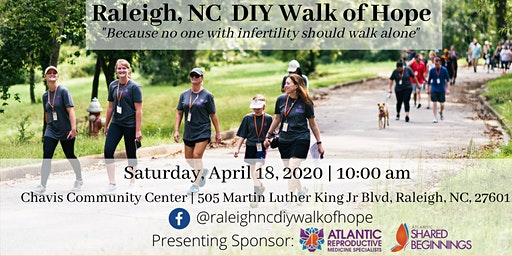 Raleigh, NC DIY Walk of Hope for Infertility