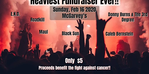 Heaviest Fundraiser Ever cuz Screw Cancer!