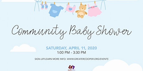 Greater Cooper's Community Baby Shower tickets
