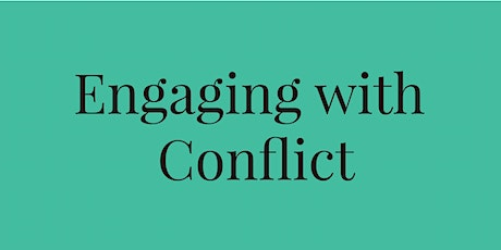 Engaging with Conflict - December 3, 2020 tickets
